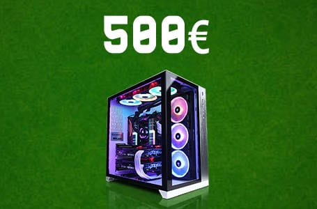 PC Gamer à 500€ – Config PC entrée de gamme