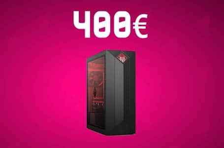 PC Gamer à 400€ – Config PC complète entrée de gamme