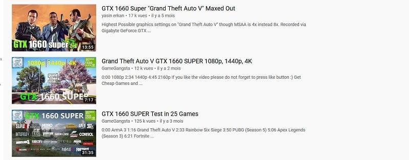 benchmark youtube