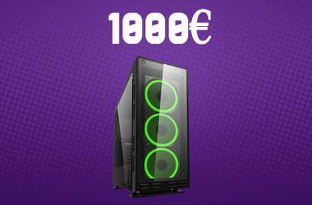 PC Gamer 1000€ – Config PC complète milieu de gamme