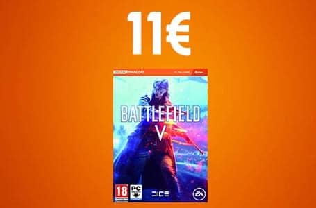 Bon Plan: Battlefield 5 sur PC à seulement 11.99€ !