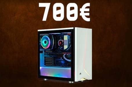 PC Gamer à 700€ – Configuration PC milieu de gamme