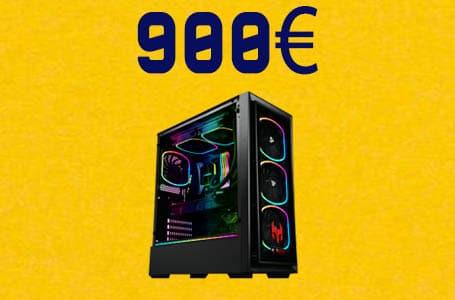 PC Gamer à 900€ – Configuration PC milieu de gamme