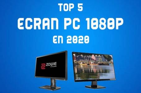 Les 5 meilleurs Ecrans PC 1080p en 2020 (Comparatif)