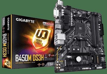 carte mère gigabyte b450