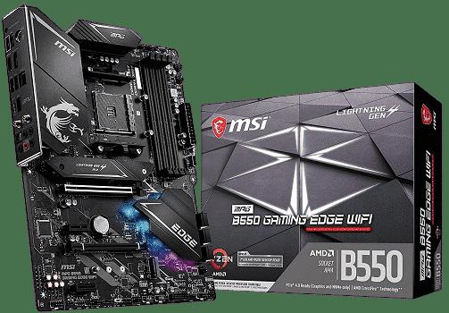 msi b550 gaming edge